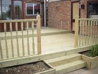 Decking glasgow imrie garden services for Garden decking glasgow